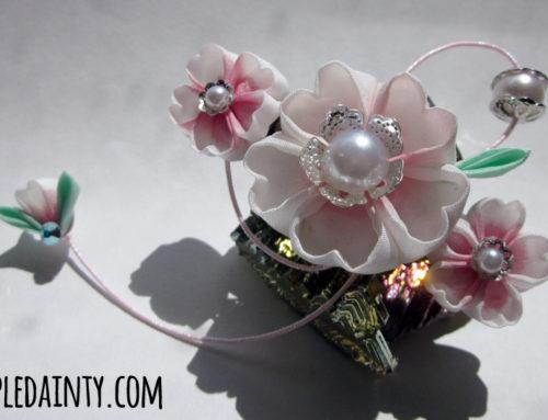 Cherry Blossom Barrettes