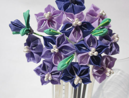 Bellflower Kanzashi