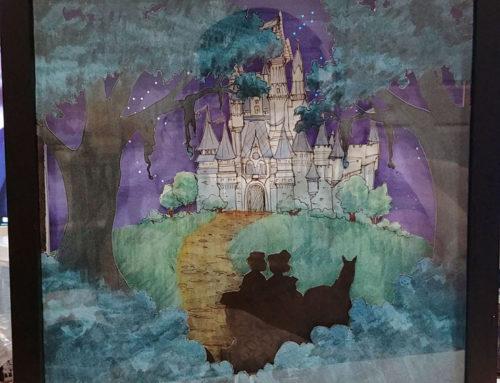 Disney Anniversary Lightbox