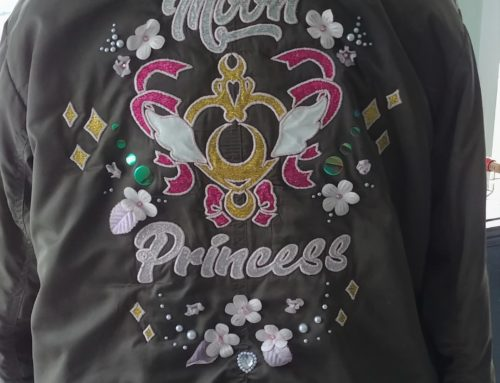Moon Princess Bomber Jacket