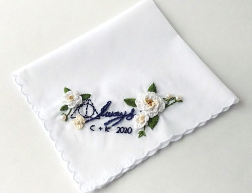 Harry Potter Wedding Handkerchief