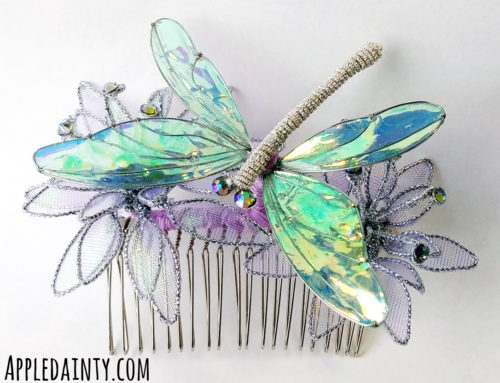 Pampas Grass & Dragonflies