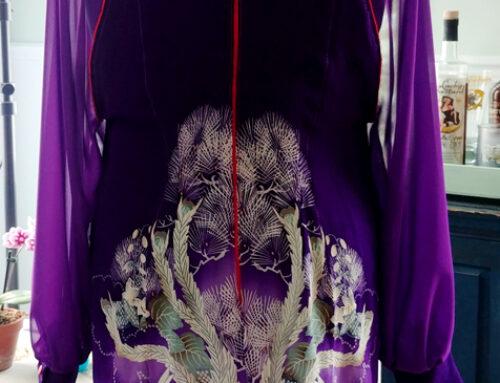 Phoenix Kimono Remake Dress
