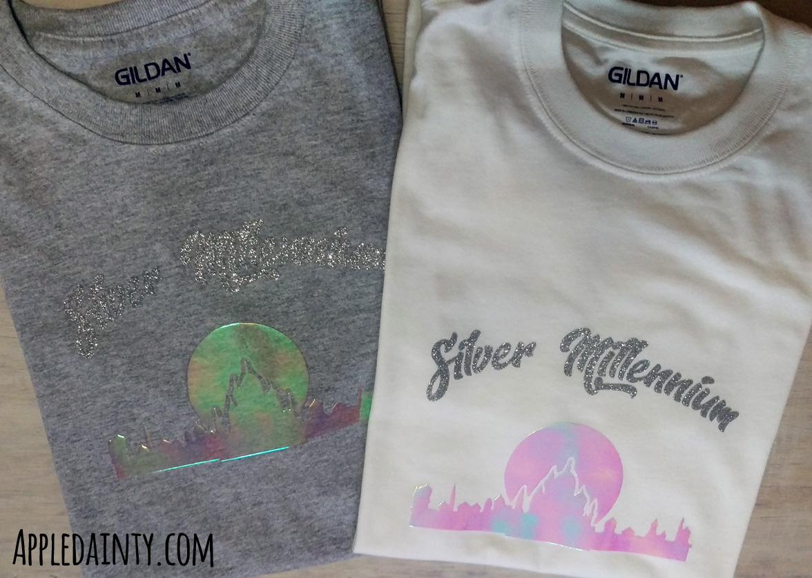 Silver Millennium T-Shirts + Downloadable Pattern!