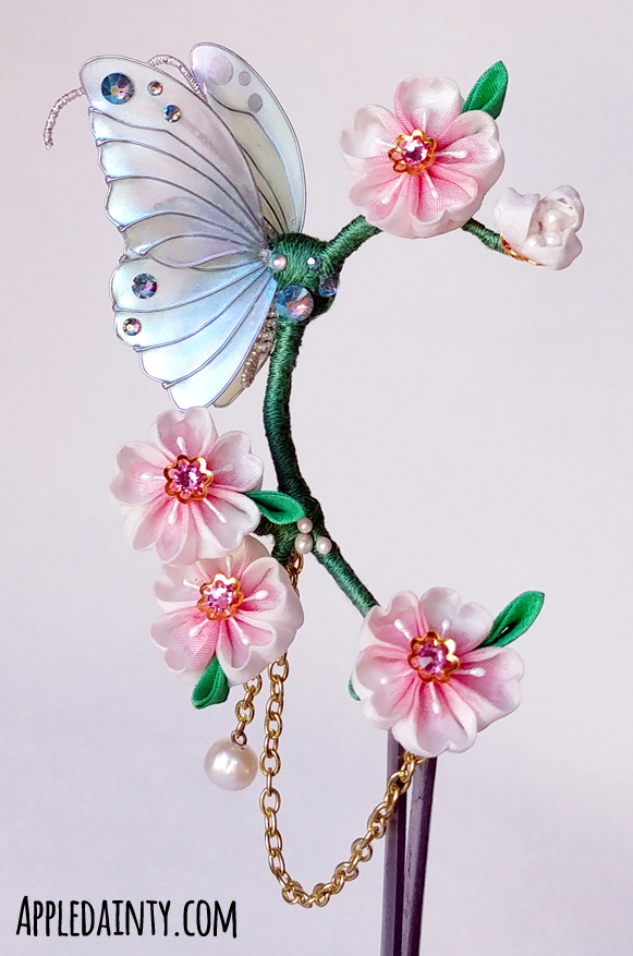 Cherry Blossom & Butterfly Ear Cuff + Anime North Report