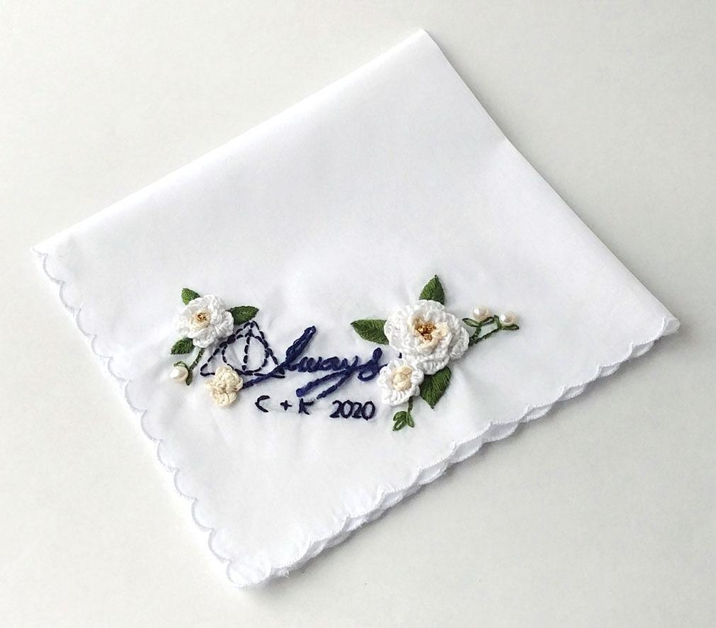 Harry Potter Wedding Handkerchief
