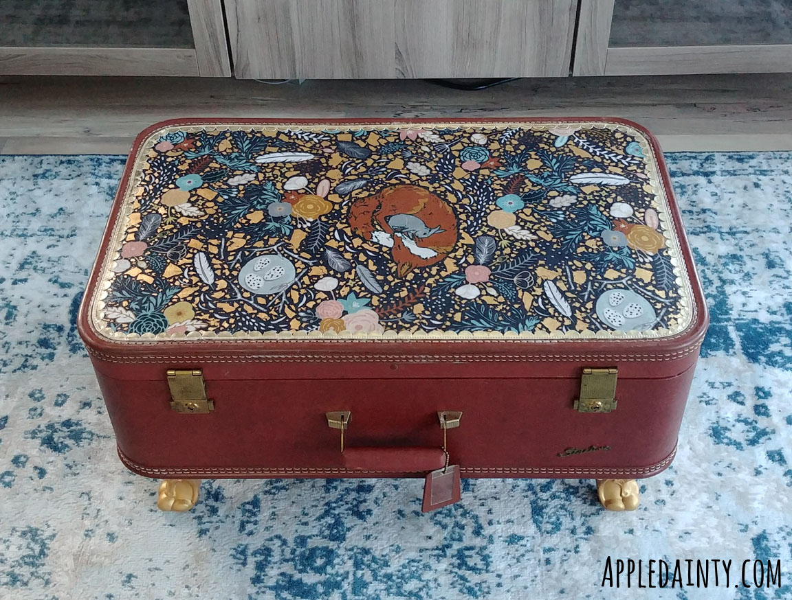 Suitcase to Coffee Table Conversion